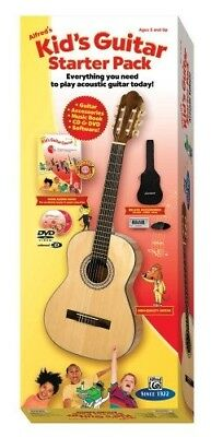 Alfred's Kid's Guitar Course, Complete Starter Pack. Free Delivery