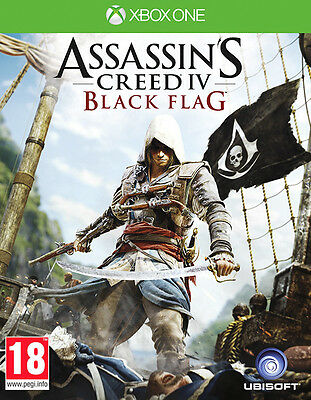 Assassins Creed 4 Black Flag ~ XBox One ( in Excellent Condition)