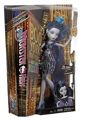 Monster High Boo York Gala Ghoulfriends - Elle Eedee Doll - CHW63 - New