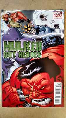 Hulked Out Heroes #2 1St Print Mcguinness Variant Marvel Comics (2010) Red Hulk
