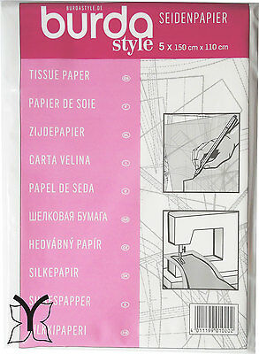 Burda Dressmakers Tracing Tissue Paper: Sewing Pattern Embroidery Appliqué Craft