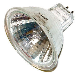 PROJECTOR LAMP - GE Quartzine DDM  Projection Bulb - 80W, 19V - NEW