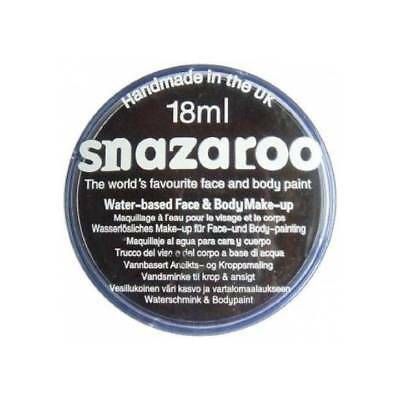 PROFESSIONAL 18 ml BLACK Halloween SNAZAROO FACE & BODY PAINT MAKE UP