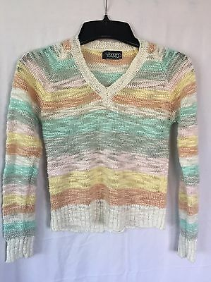 Girls Vintage Gitano Sweater Size Large/XL