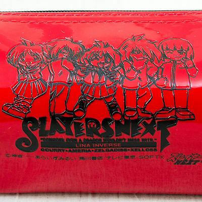 Slayers Next Vinyl Pen Case Lina Inverse Gourry Ameria Zelgadiss Zelloss