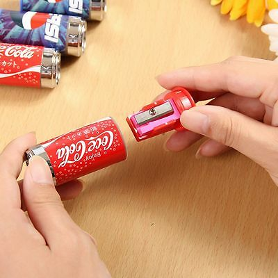 Student Eraser Cute Pencil Sharpener Can Drink Cola