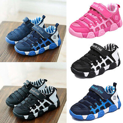 Boys Girls Child Outdoor Running Trainers Shoes Kids Sneakers Athletic Sports