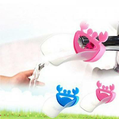 Helper Kids Lovely Sink Children Crab Washing Hands Faucet Extender Bathroom