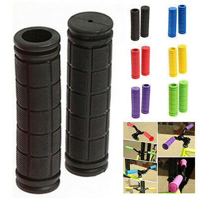 Antislip Rubber MTB MOUNTAIN BIKE CYCLE BICYCLE HANDLE BAR GRIPS  Lock Cover