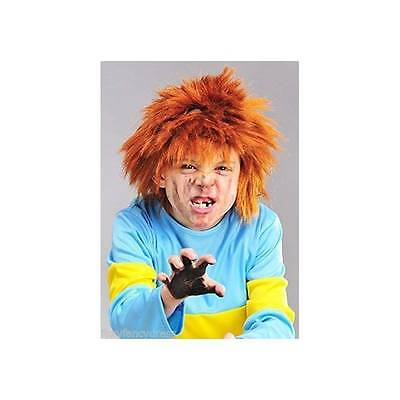 Ginger Horrid Henry Chisel Chucky WIG Book Week Kids Halloween Fancy Dress