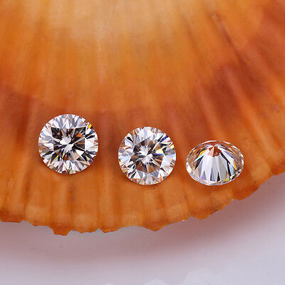 4 mm 1.0TCW Round Excellent Cutting Moissanite Loose Stones Man Made Diamond