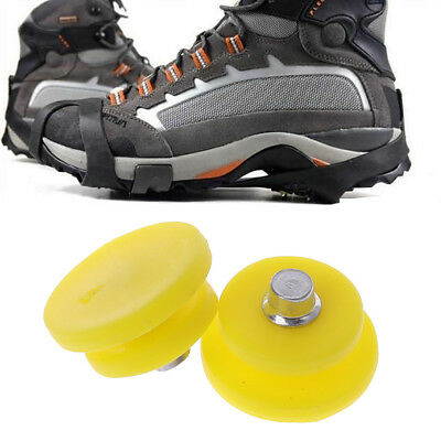 Non-slip Cleats Anti-Slip Overshoes Studded Snow Ice Traction Shoe Covers Spike