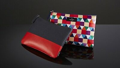 QANTAS Airways Kate Spade AND Jack Spade Business Class Airline Amenity Kits