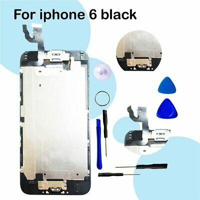CA For iPhone 6 LCD Digitizer Assembly Screen Replacement+Camera+Home Button