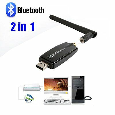 2 in1 Dual Band AC Wireless Network Card Wireless WIFI Bluetooth Receiver LOT GT