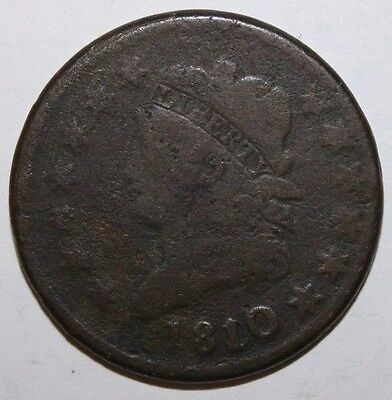 1810 US Large Cent CC96