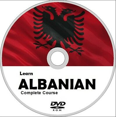 Learn to speak ALBANIAN COMPLETE LANGUAGE COURSE DVD MP3 AUDIO PDF TEXTBOOKS