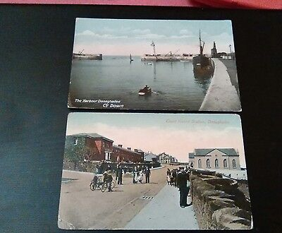Vintage postcards ulster northern ireland Donaghadee co down