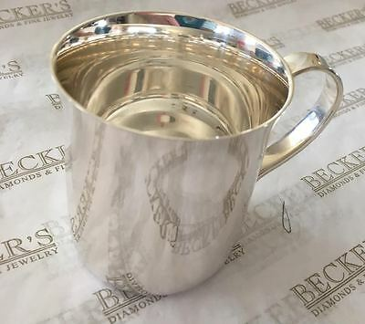 Tiffany & Co Sterling silver Baby Cup, # 23245, No Monogram