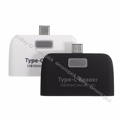 4in1 USB 3.1 Type C USB-C micro SD TF OTG Card Reader Adapter for iPhone Android