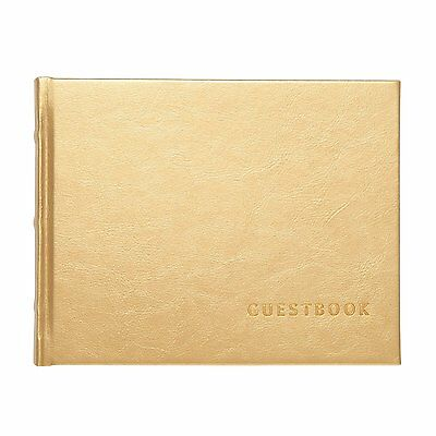 C.R. Gibson - Luxury Guest Book, Gilded (G7-18795)