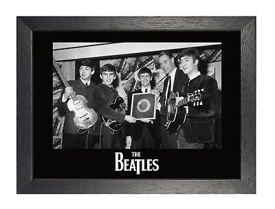 The Beatles 7 Black And White Photograph Poster A3 A4 Laminated Print