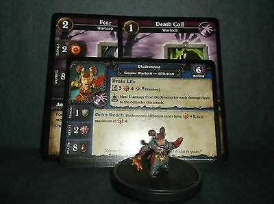 W.O.W. Miniature, Dizdemona - with stat card and 2 in game cards NEW!!