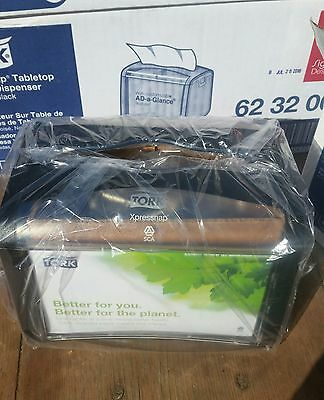 NIB Tork Xpressnap Tabletop Napkin Dispenser with AD-a-Glance Feature