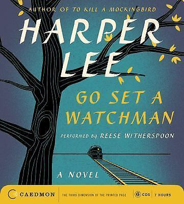 GO SET A WATCHMAN unabridged audio book on CD by HARPER LEE