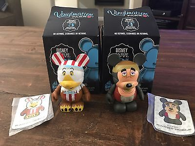 "Disney Vinylmation 3"" PARK SERIES 3 - Big Al and Sam the Eagle - Set of 2"