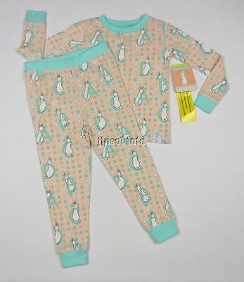 NEW Pat The Bunny Pajamas PJs Cotton Little Golden Books 3T NWT