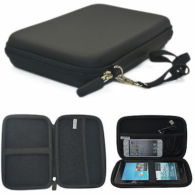 """7"""" Inch Hard Carrying Travel GPS Bag Pouch GPS Case Cover Protective For Garmin"""