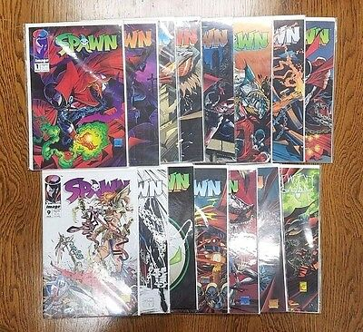 Lot of SPAWN comics comic books 1 2 3 4 5 6 7 8 9 10 12 13 14 15 16 Image Comics
