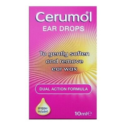 ツ Cerumol Ear Drops 10Ml For Easy Removal Of Ear Wax