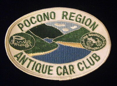 Lot of 3 Pocono Region Antique Car Club Patches