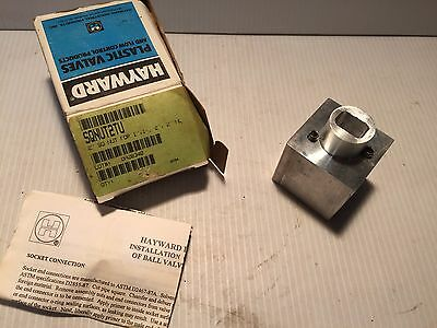 "SQNUT2TU Hayward 2"" Square Nut FOR 1"" , 1.5"" , 2"" True Union Ball Valves"