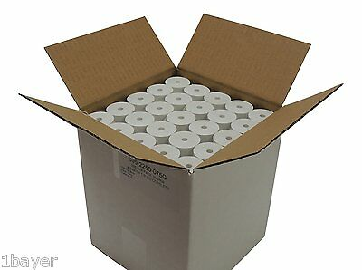 Thermal Roll Paper Coreless 2-1/4x75' Office Retail POS Printer Ribbon Receipt