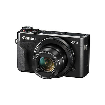 Black Canon PowerShot G7X  II G7 X Mark II Digital Camera