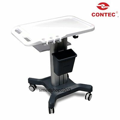 2018 New CONTEC Mobile Trolley Cart Moving Stand For Portable Ultrasound scanner