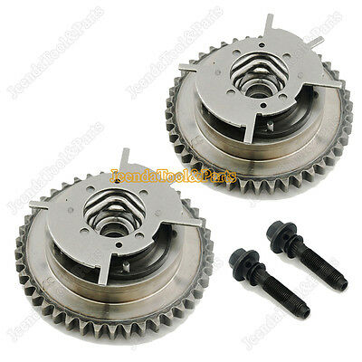 New Variable Timing Cam Phaser VVTi Actuator Pair For Ford 4.6L 281 5.4L 330 3V