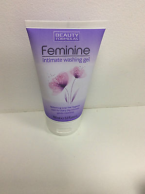 BEAUTY FORMULAS Feminine Intimate Washing Gel 150ml