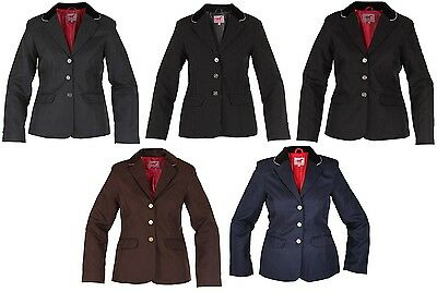 Red Horse Ladies COMPETITION Horse Riding Jacket Concours SHOW ALL COLOURS