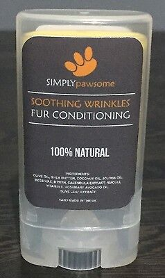 Dog Wrinkles Soothing Tear Stains Sore Skin Fur Simply Pawsome 15ml 100% Natural