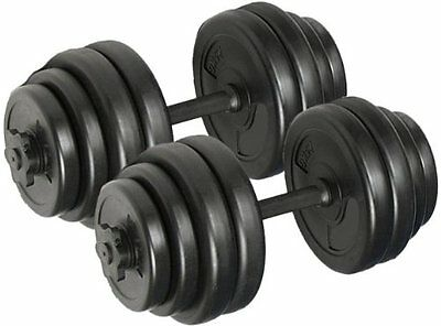 Dumbbell Set Kit Weights Training Gym Workout Fitness Dumbells 15 KG 20Kg 30Kg