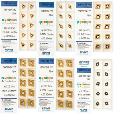CCMT, TCMT, DCMT, CNMG Indexable Carbide Turning Inserts. Steel/General Purpose