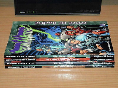 Stormwatch by Warren Ellis (1-4 Graphic Novel Collection)
