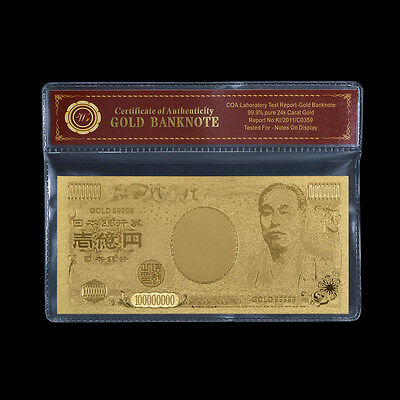 WR Note Japan Old Banknote 100 Million Yen Japanese Note Uncirculated Banknotes