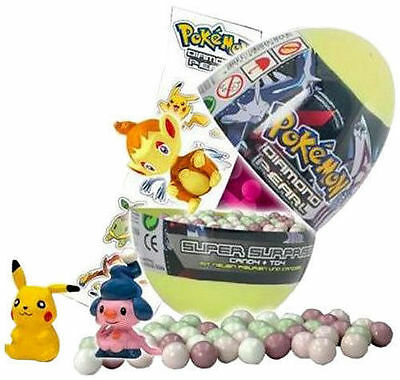 Pokemon Diamond Pearl Special Easter Egg Figures Random Candy Sweet Limited