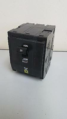 Square D Circuit Breaker QO330 30 Amp 240 Volt 3 Pole  PLUG IN warranty*