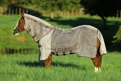 "Horseware Rambo PROTECTOR Fly Rug Insect/Midge/Bug/UV Sun Protection 5'0""-73"""
